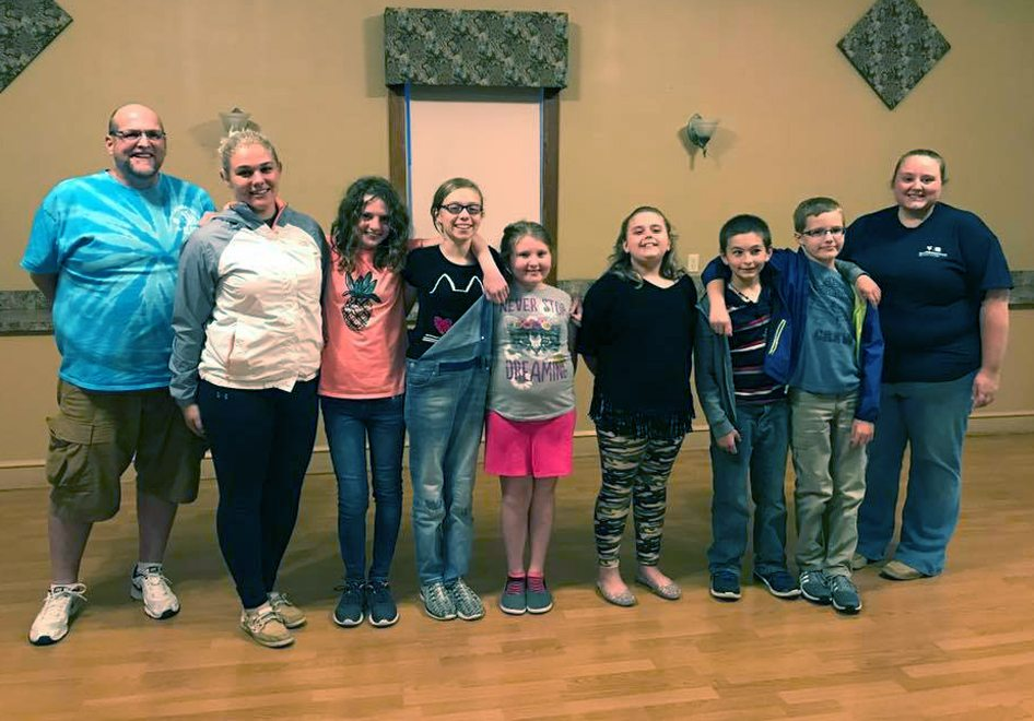 Members of the Tuscarora Indians 4-H club remain engaged in many activities. (Submitted photo)