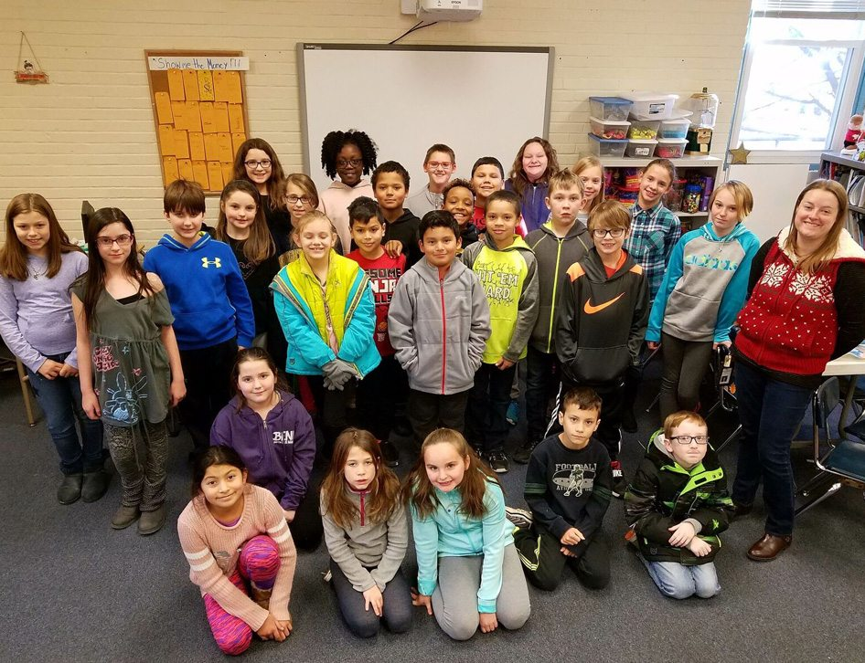 Students in Ms. Melanie Springer's fourth grade class. (Submitted photo)