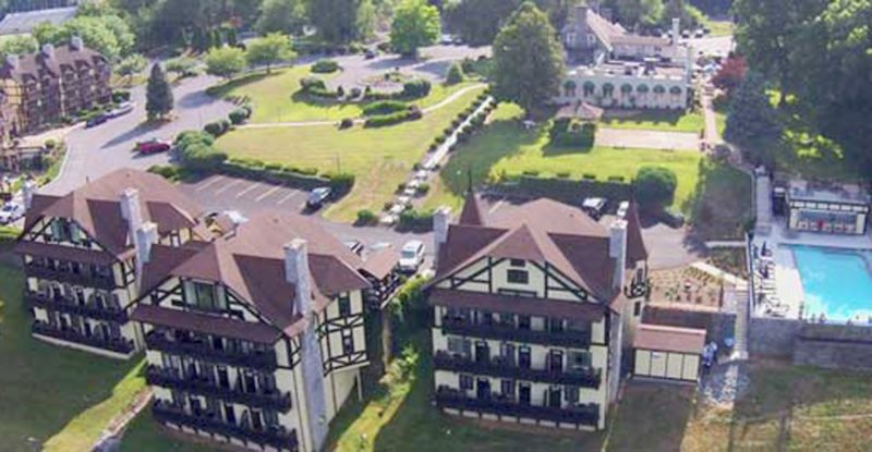 An overhead view of Bavarian Inn. (Photo from Bavarian Inn website)