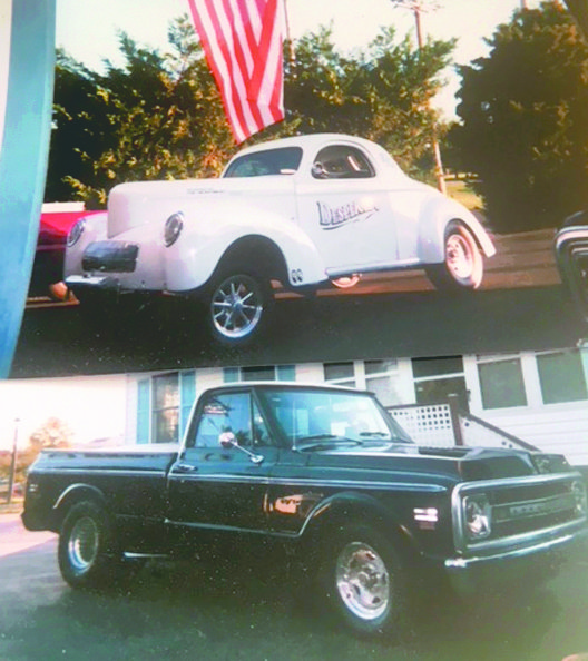 Submitted photo Stephen Johnson is proud of the work he's done on restoring vintage vehicles.