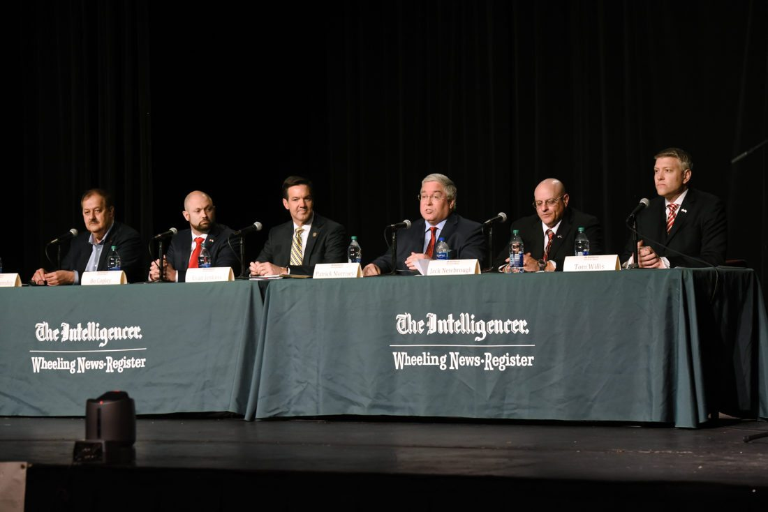 GOP Senate candidates in West Virginia to debate in Wheeling