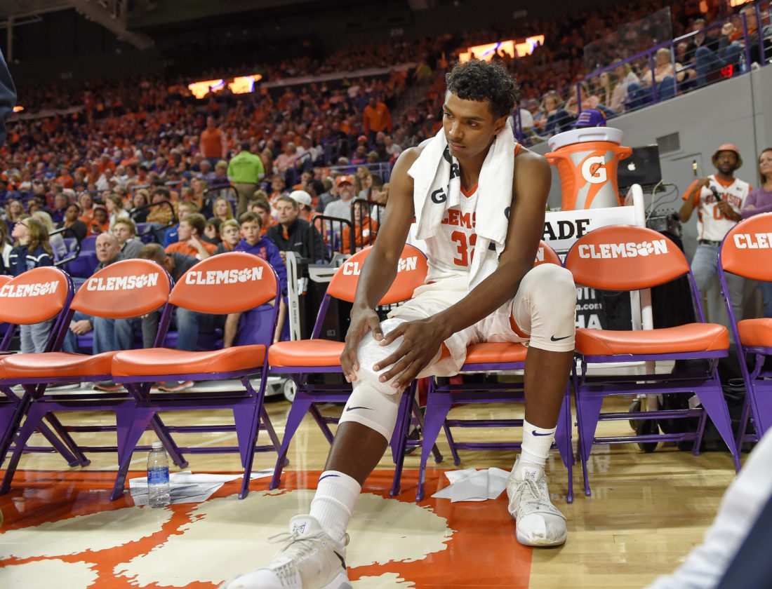 The Thunder have signed former Clemson standout Donte Grantham