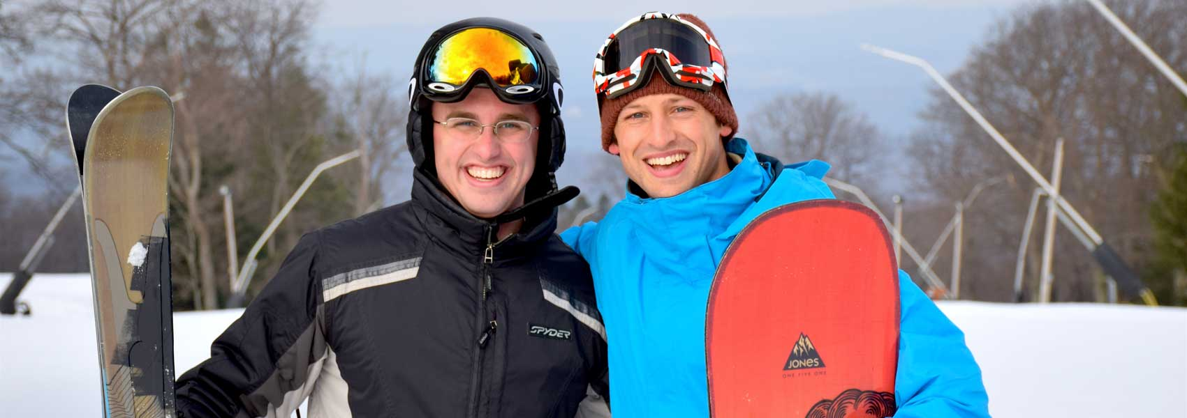 skier-and-boarder-at-laurel-mountain