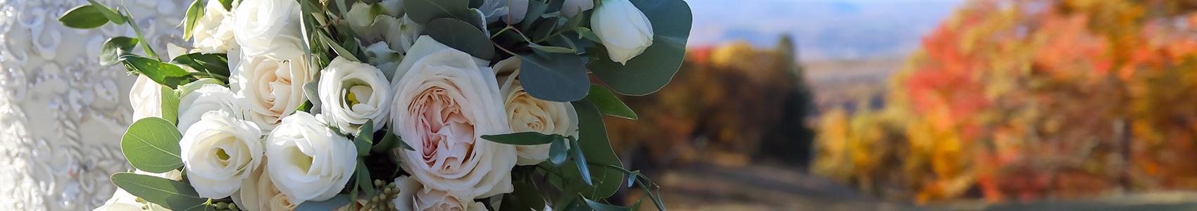 wedding flowers at Laurel Mountain