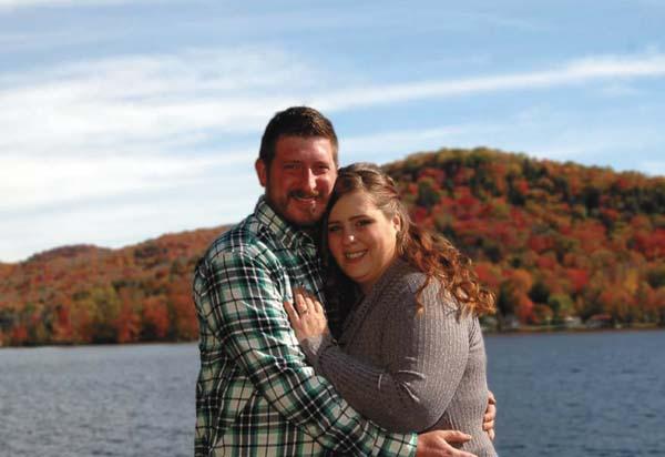 Darren Niles and Kalesha Davis