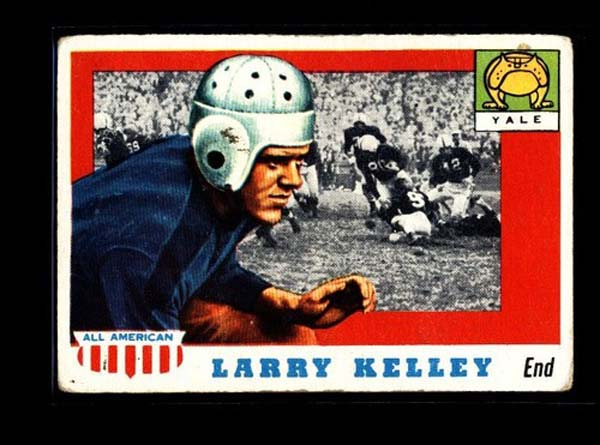 Larry Kelley was featured on a 1955 Topps All-American card. (Photo submitted)