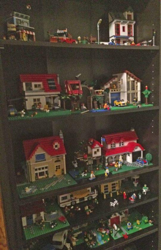 Lego life: Broadalbin woman creates model of former train depot ...
