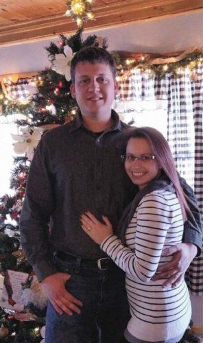 Christopher Kordyjak and Brooke Frasier
