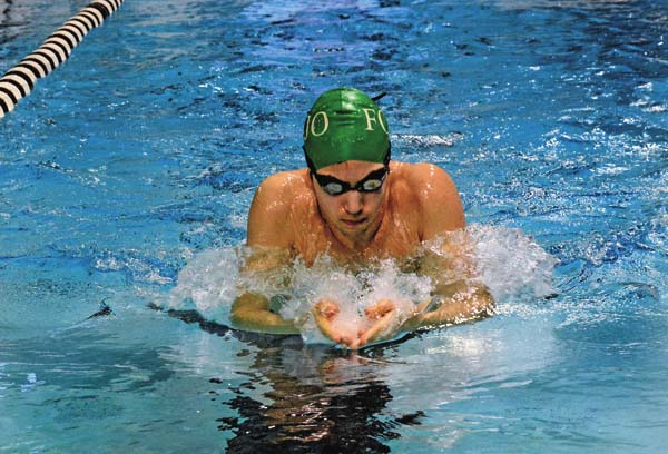 Fonda-Johnstown's Trevor Askew will be one of several area swimmers competing at the Section II Division II Championships. (The Leader-Herald/Bill Trojan)