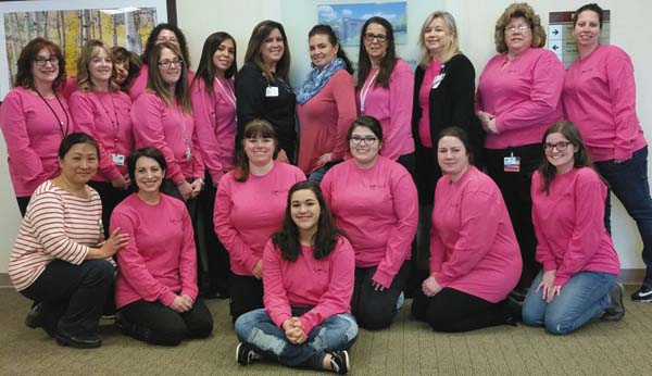 Pictured are Abby Rizzo in the front row; second row, from left, Shelley Hong, Brigitta Giulianelli, Nadeen Rizzo, Crystal Haywood, Teresa Gail and Angela Hanke and third row, from left, Tina Reed, Lori Puglisi, Bethann Kowalski, Katie Gifford, Betty Blakeslee, Deanna Casillas, Suzanne Hagadorn, Diana Gonzalez, Wendy Lucas, Gayle Grajewski, Sherri Sagatis and Jana Rood.(Photo submitted)