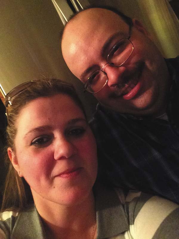 Jessica Gallup and Matthew Daniels