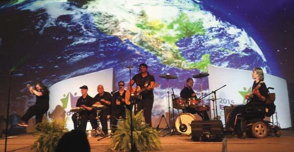 Debbie Woodruff, dancer, Shawn Lehr, Karl Blanchard, Adrienne Phillips, Michelle King, David LaGrange, and Nick Robinson in 2015.