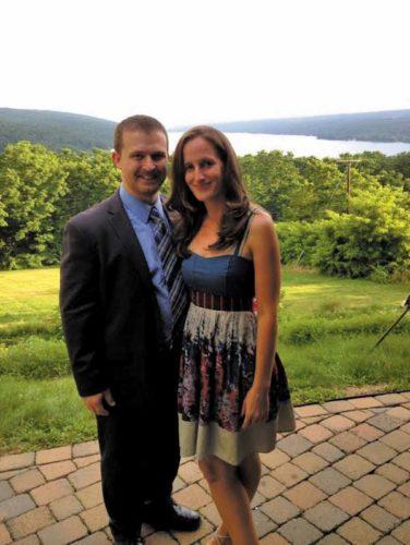 Anthony Iorio and Nora Watson