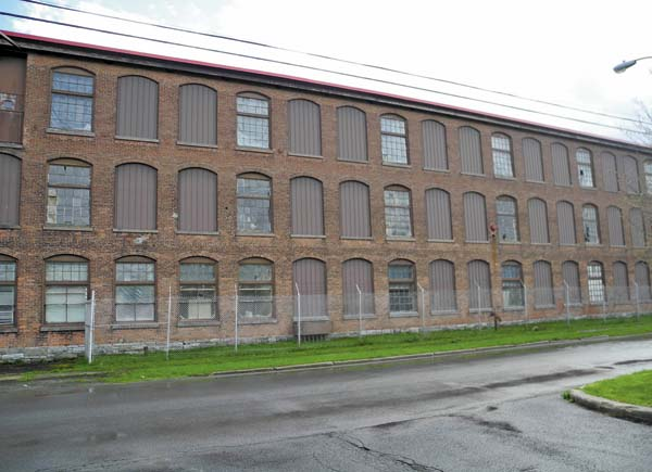 The former Diana Knitting Mill off North Perry and Grove streets in Johnstown, as seen Tuesday, is being groomed for Townsend Leather's expansion. (The Leader-Herald/Michael Anich)