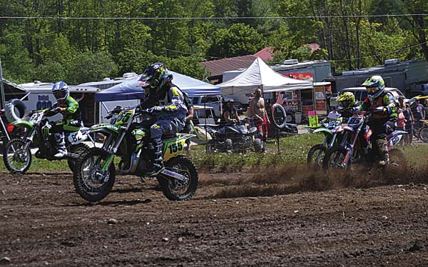 The 35th season of motocross racing at Royal Mountain Ski Area kicks off a two-day Monster Motocross event today and Sunday. Sign-up for both days of racing is 7 to 9 a.m. Practice will start at 8:30 a.m. on both days with racing at 11 a.m. Classes range from 50cc 4-6 years old to 50-and-older. Royal Mountain is a nine-time Central New York Motocross Riders Association Track of the Year and once again riders will be greeted with numerous track changes, according to a news release. The Monster Supercross season will begin June 7. The annual hillclimb event is scheduled for July 16. For more information on Royal Mountain, visit its website, www.royalmountain.com. (The Leader-Herald/Paul Wager)
