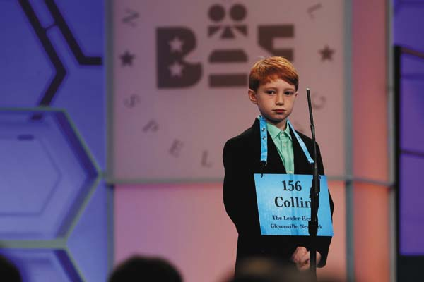 Year-old speller shines at National Spelling Bee