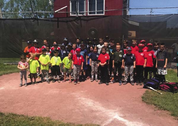 The Cubby Faville Memorial Fund and Gloversville Little League hosted the first Gloversville Little League/Cubby Faville Memorial Home Run Derby at Parkhurst Field — home of Gloversville Little League on May 20. (Photo submitted)