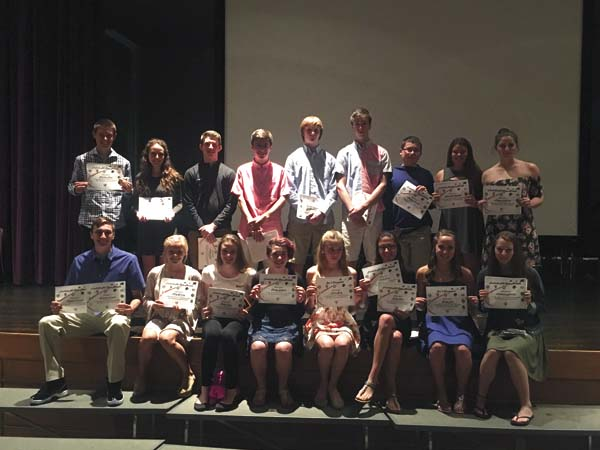Several Johnstown spring sports athletes were named all-stars in their respective sports. (Photo submitted)