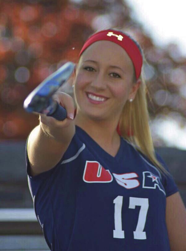 Ashley Dona, a 2013 Johnstown High School graduate and 2017 Siena College graduate, recently was selected as a player and ambassador to play and represent the United States at the 2017 Scottish Friendship Field Hockey Series tour in Scotland. (Photo submitted)