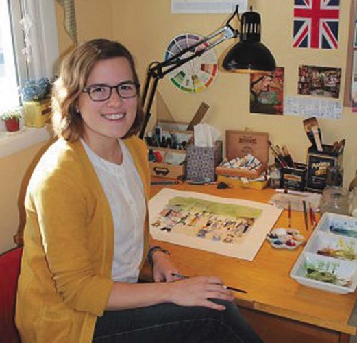 Illustrator Megan Tennant, above, will be at the Timberline Cafe and Bakery on July 6 for a book signing with author Maurice Hebert. (Photo submitted)