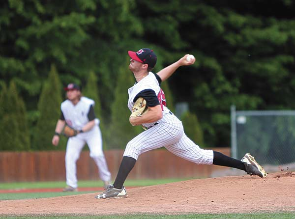 Amsterdam's BrandonReitz was named the PerfectGame Collegiate Baseball League Pitcher of the Week. (Photo submitted)