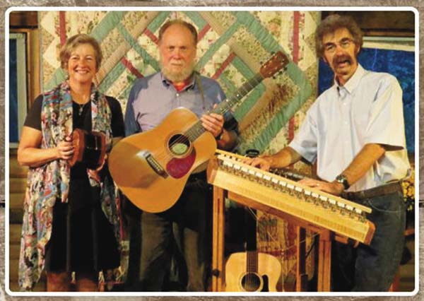 The Jamcrackers, from left— Dan Berggren, Peggy Lynn and Dan Duggan—will perform at St. Ann's Church in Wells today. (Photo submitted)