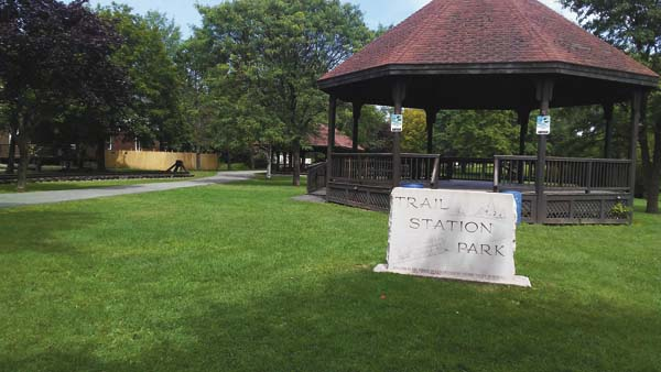 Trail Station Park will serve as the starting point of the Recreation Commission's September 5k event. (The Leader-Herald/Kerry Minor)