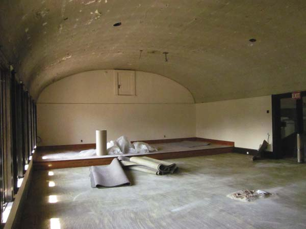 The Carnegie Room is pictured above. After renovations are complete, the room will remain a meeting room, but will be handicap-accessible. (Photo submitted)