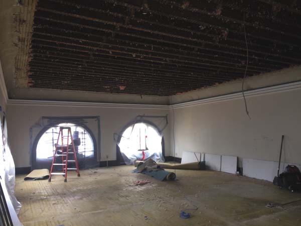 The tech services old room will house part of the adult collection when the library reopens. (Photo submitted)