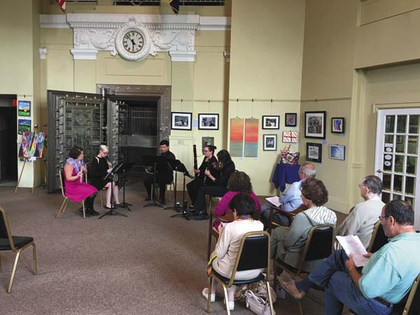 The Chamber Music Series is returning to Gloversville. In the photo is a scene from last yearÕs series. (Photo submitted)