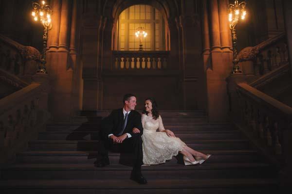 Briana Chittenden and Caleb Brown