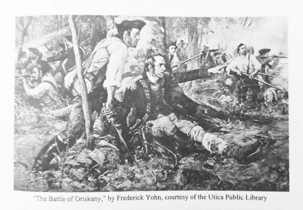 Illustrator Frederick Yohn (1875-1933) specialized in depicting Revolutionary War battle scenes. His most famous painting is of Washington at Valley Forge. (Photo courtesy of Peter Betz)