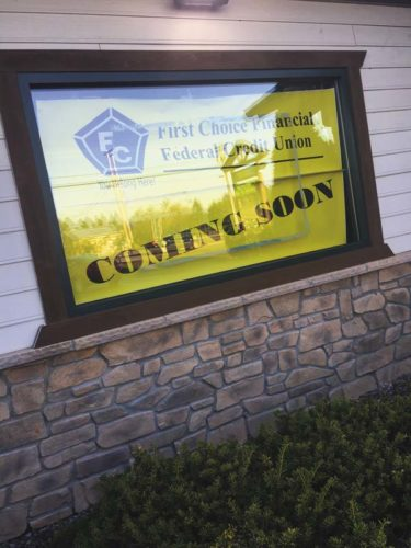 First Choice Financial is opening a new branch at the Subway Plaza in Broadalbin.  The Leader-Herald/Briana O'Hara