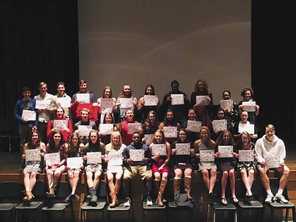 Several Johnstown athletes were named all-stars in their respective sports for the fall season. (Photo submitted)