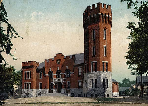 The Gloversville Armory is pictured on Washington Street.