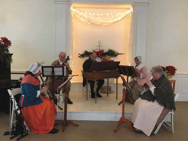 Liaisons Plaisantes, an 18th century reenactment band, will perform a holiday concert at The Revival, 1441 Route 30, at 3 p.m. on Dec. 16. (Photo submitted)