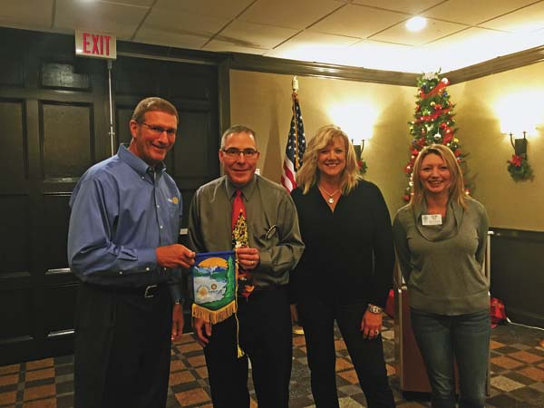 From left, Tim Eagan, Mark Will, Kathleen Egan and Julia Roy. (Photo submitted)