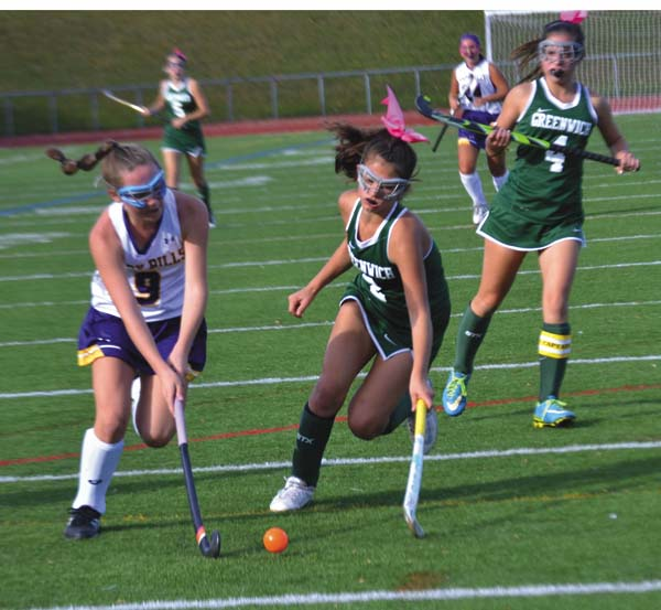 Johnstown's Emily Fleming (9) was named to the all-state field hockey team at the Section II Field Hockey Banquet in Latham. (The Leader-Herald/Paul Wager)