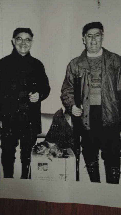 Paul Giardino's grandfathers's Antonio Petralia, left, and Paul Giardino are pictured. (Photo courtesy of Paul Giardino)