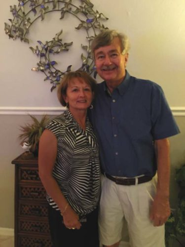 Lynn C. Rudolph, right, with his wife, Diane (LaVallee) Rudolph