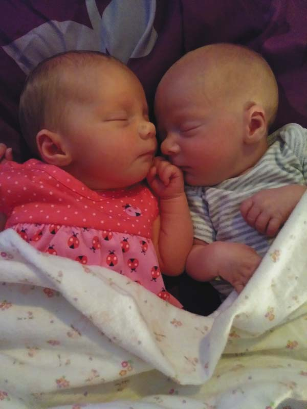 Adrianna Rose McGuire, left, and Kevin Micheal McGuire Jr.