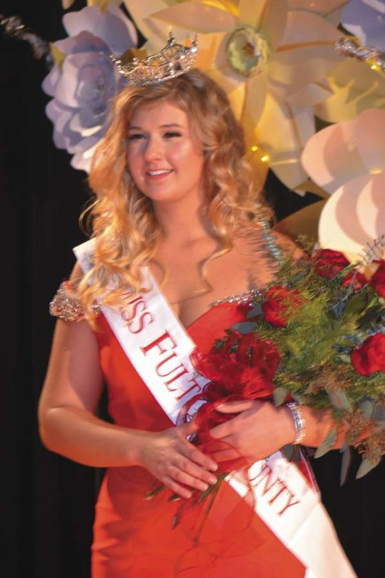2018 Miss Fulton County Chelsea Cirillo of of Johnstown. (The Leader-Herald/Eric Retzlaff)