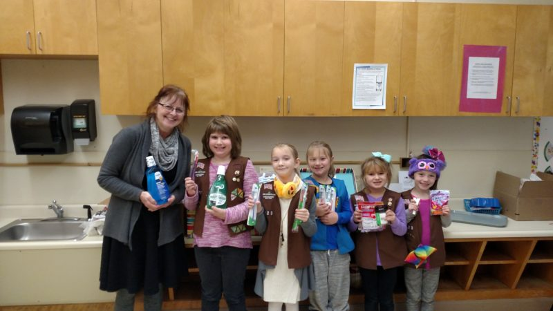 Girl Scout Troop 2123, 22 girls from kindergarten, first, second, and third grades at the Oppenheim-Ephratah-St. Johnsville Elementary School. (Photo submitted)