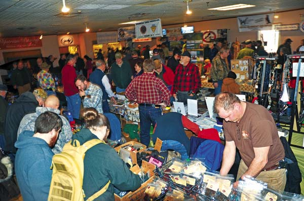 An overview of attendees during last year's Outdoorsmen's Show at the Johnstown Moose. (The Leader-Herald file photo)