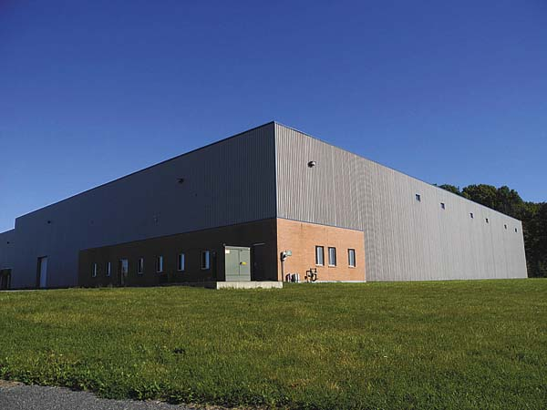 The Johnstown Industrial Park building at 123 Union Ave. Ext. where Century Linen & Uniform wants to expand, is pictured Oct. 20. (The Leader-Herald/Michael Anich)