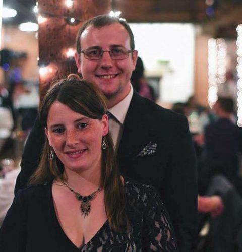 Michaela Schuyler and Scott Shelton