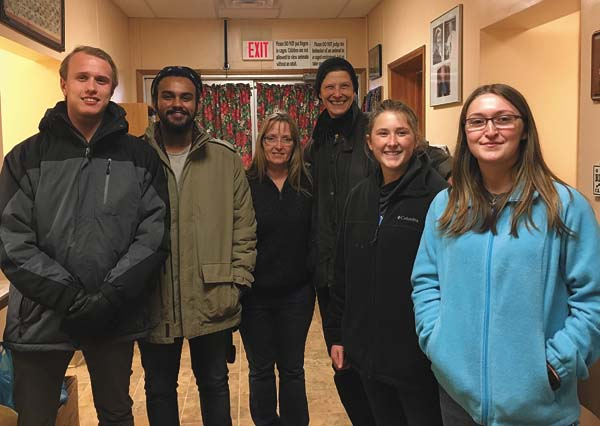 PTK officers and members at Ayres Animal Shelter with PTK co-advisor, Susan Mac Leod. (Photo submitted)