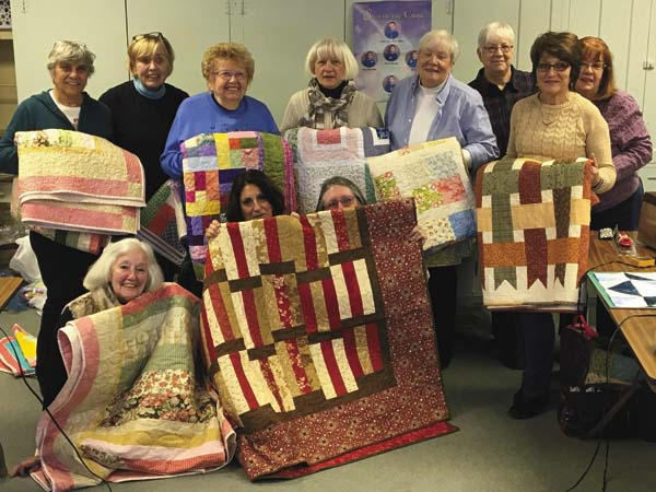 Members of The Grateful Threads Quilt Group of Johnstown are pictured. (Photo submitted)