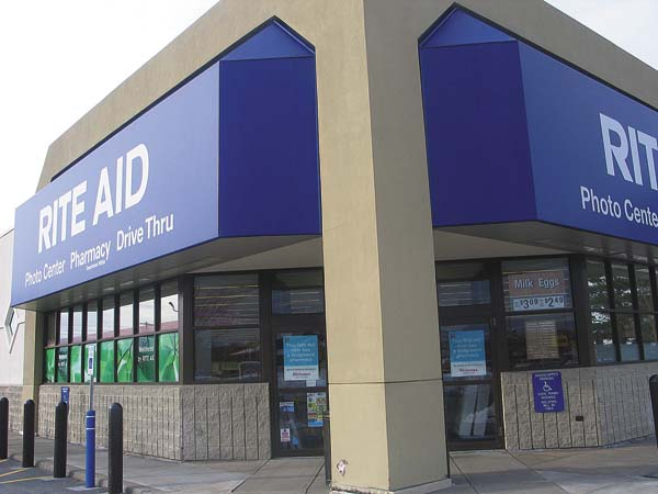 Area Rite Aids Sold To Walgreens