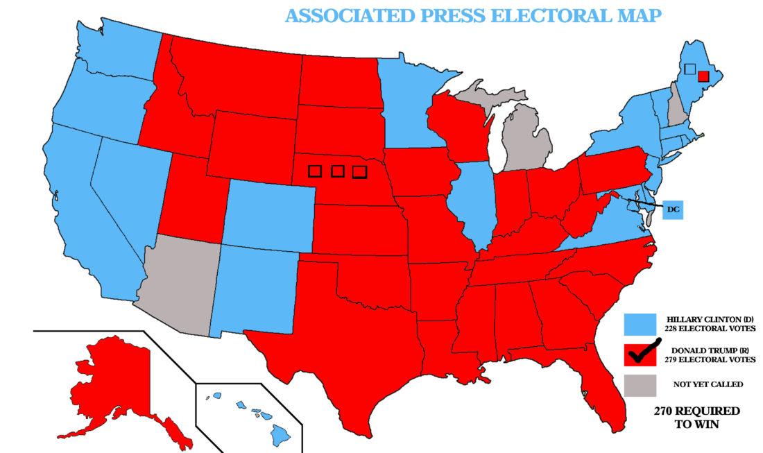 AP: TRUMP WINS PRESIDENCY | News, Sports, Jobs - The Sentinel
